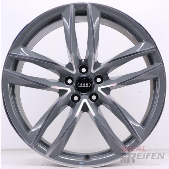 Original Audi RS6 C7 4G 21 Zoll 4G0601025CE 4G0601025CG 4G0601025CF GREY POLISH