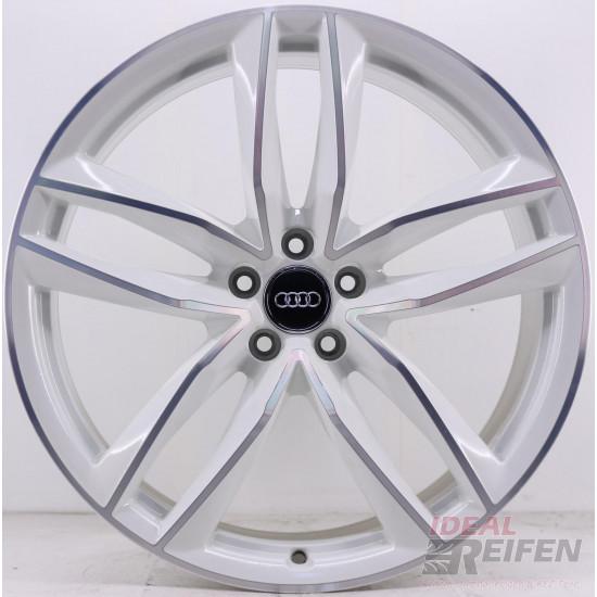 Original Audi RS6 C7 4G 21 Zoll 4G0601025CE 4G0601025CG 4G0601025CF white polish