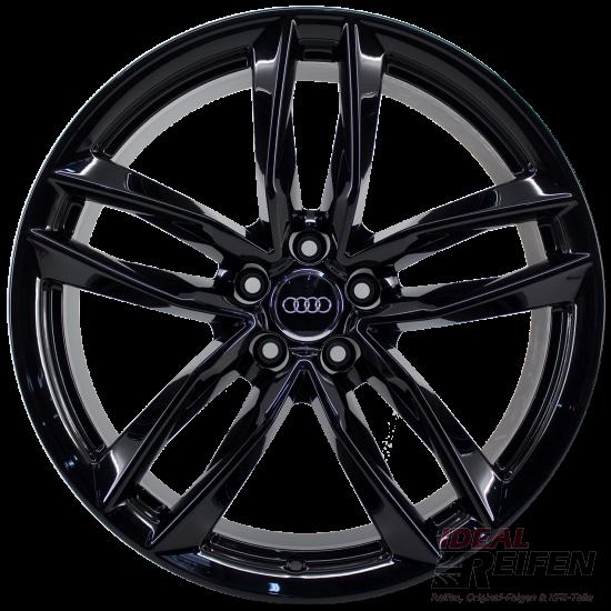 Original Audi RS6 C7 4G 21 Zoll 4G0601025CE 4G0601025CG 4G0601025CF black gloss