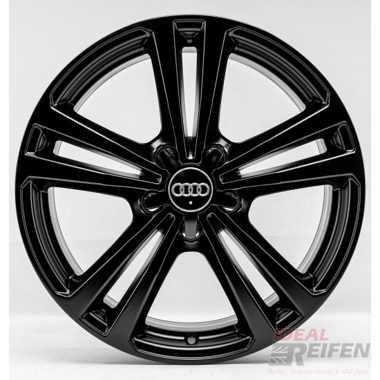 Original Audi A1 S1 8X 17 Zoll Alufelgen 8X0601025BR 7,5x17 ET36 Schwarz matt