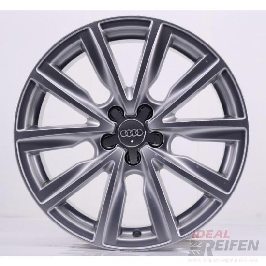 Original Audi A1 S1 8X 17 Zoll Alufelgen 8X0601025C 7,5x17 ET36 Silber glänzend