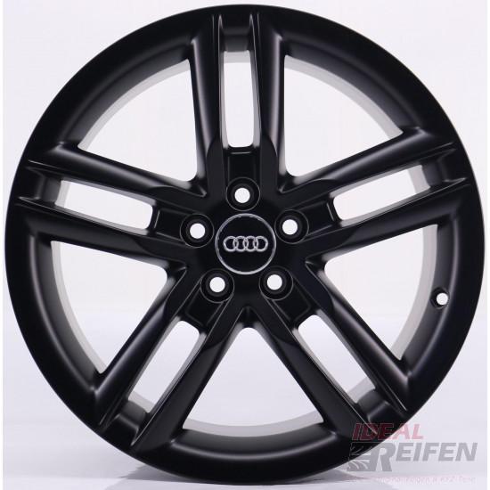 Original Audi A1 S1 8X 17 Zoll Felgen 8X0601025K 7,5x17 ET36 Schwarz matt