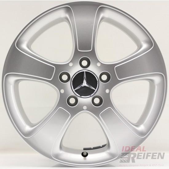 Alufelgen Mercedes A Klasse Radzierblende