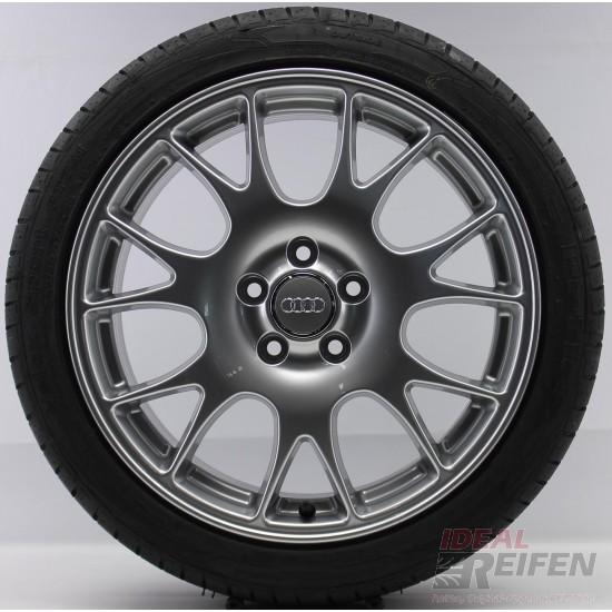 4 Original Audi A3 S3 8P 8P0601025R 18 Zoll Sommerräder Sommersatz Hankook NEU