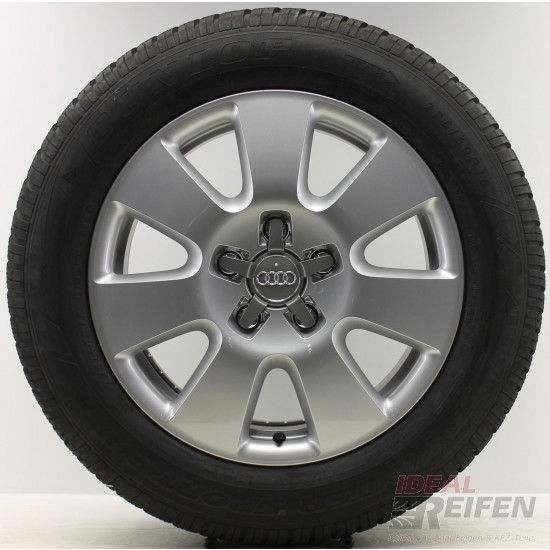 4 Original Audi Q7 4L 18 Zoll Winterräder 4L0601025AF 7,5x18 ET53 235/60 R18