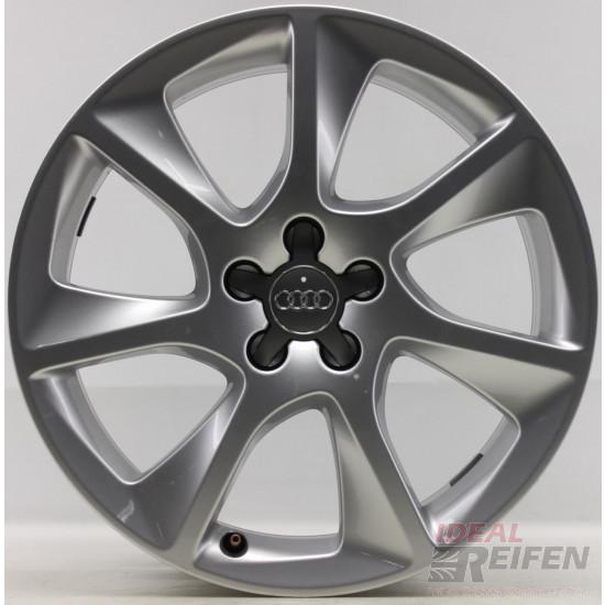 Original Audi A1 S1 8X 17 Zoll Alufelgen 8X0601025J 7,5x17ET36 Silber glänzend