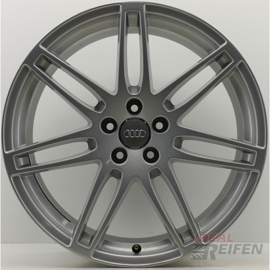 Original Audi A5 S5 8T 20 Zoll Felgen 8T0601025DE CM N DN 9x20ET29 Silber