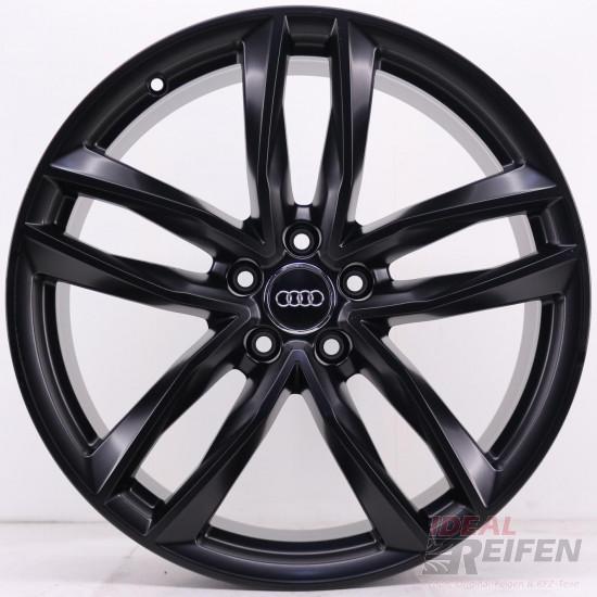 Original Audi RS6 C7 4G 21 Zoll 4G0601025CE 4G0601025CG 4G0601025CF black matt