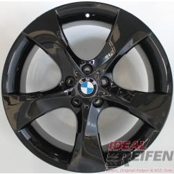 BMW 5er E60 E61 20 Zoll Alufelgen Styling 311 Original 5er Felgen Schwarz glänzend NEU