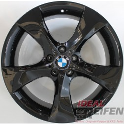 21 Zoll BMW X4 Typ F26 Styling 311 Original 7er Felgen Schwarz glänzend NEU