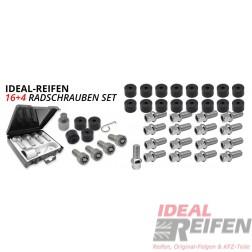 Original VW für Audi Radschrauben Bolzen Felgen Sicherheitsschloss Schloss neu