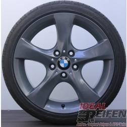 4 Original 1er BMW E81 E82 18 Zoll Titan glänzend Sommerräder PIRELLI NEU