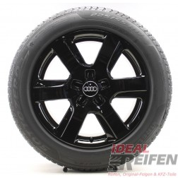4 Original Audi A6 4G C7 17 Zoll Winterräder 4G0601025L 7,5x17 ET37 Hankook SG
