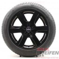 4 Audi A4 8W9 B9 17 Zoll Winterräder Wintersatz OEM Audi Felgen 4G8-H SSM