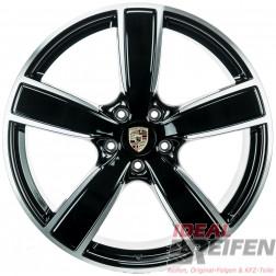 4 Original Porsche Cayenne 9Y Sport Classic II 22 Zoll Alufelgen Satz SG-POL