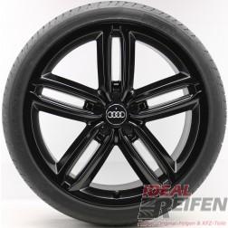 4 Audi A8 S8 4E D3 20 Zoll Sommerräder Sommersatz 8,5x20 Original Audi Pirelli SSM