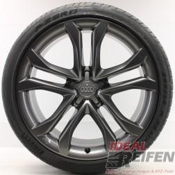 4 Audi A8 S8 4E D3 20 Zoll Sommerräder Sommersatz Original Audi OEM J Pirelli TG
