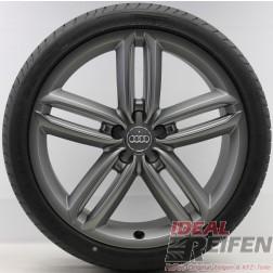 4 Audi A8 S8 4E D3 20 Zoll Sommerräder Sommersatz 8,5x20 Original Audi Pirelli TM