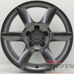 4 Original Audi A5 8T 8F 17 Zoll Alufelgen 8T0601025D 8x17 ET26 Felge TG 28467