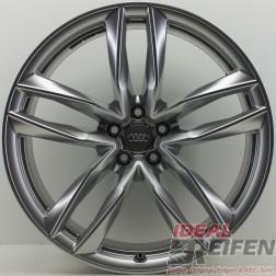 "4 Original Audi RS6 C7 4G 21"" 4G0601025CE 4G0601025CG 4G0601025CF 9,5x21 ET25"
