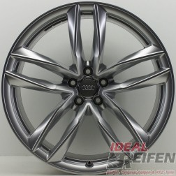 4 Original Audi RS6 21 Zoll Felgen C7 4G 4G0601025CE / CG / CF 9,5x21 ET25 NEU