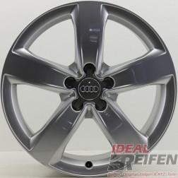 4 Original Audi A6 4G C7 18 Zoll 4G0601025M Alufelgen Silber 7,5x18 ET37 29978