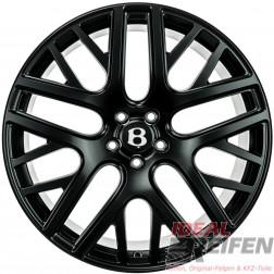Original Bentley Continental GT3 GTC 3W0601025FG 21 Zoll Felgen Schwarz matt