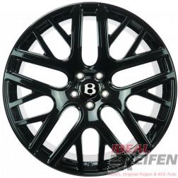 Original Bentley Continental GT3 GTC 3W0601025FG 21 Zoll Felgen Schwarz glanz
