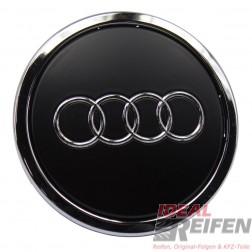 Original Audi oem cover caps cap rim wheels black-matt 8T0601170A new