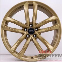 Original Audi RS6 C7 4G 21 Zoll 4G0601025CE 4G0601025CG 4G0601025CF Gold matt