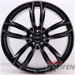 Original Audi RS6 C7 4G 21 Zoll Sline 4G0601025CE 4G0601025CG 4G0601025CF black pol