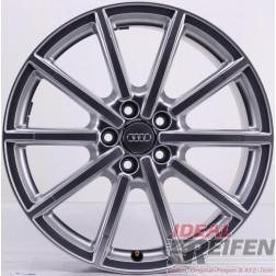 Original Audi A6 4G C7 Allroad 19 Zoll 4G9601025H / J 8,5x19 ET43 Silber