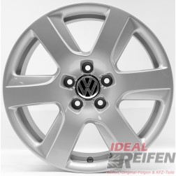 4 VW EOS 5F 17 Zoll Alufelgen Original Audi Felgen 4GA Silber S
