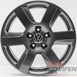 4 VW EOS 5F 17 Zoll Alufelgen Original Audi Felgen 4GA grau TG