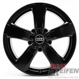 4 Audi A7 4G8 4GA 18 Zoll Alufelgen Original Audi Felgen 4GM schwarz s.matt