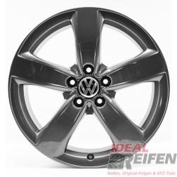 VW Passat 3G B8 Alltrack 18 Zoll Alufelgen Original Audi Felgen 4GM grau glänzend
