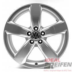 4 VW Passat 3G B8 18 Zoll Alufelgen 7,5x18 ET37 Original Audi Felgen 4GM OE