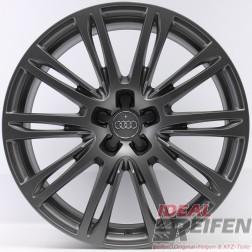 4 Audi Q5 SQ5 FY 20 Zoll Alufelgen 9x20 ET37  Original Audi Felgen 4H-AG TM