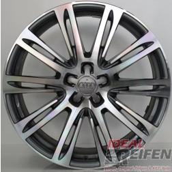 4 Original Audi A8 S8 F8 20 Zoll Alufelgen 9x20 ET37 S-Line Felgen 4HAG TG-P
