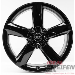 4 Audi Q5 8R SQ5 19 Zoll Alufelgen 7,5x19 ET29 Original Audi Felgen SG