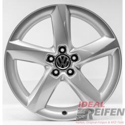 4 VW Sharan 7N 19 Zoll Alufelgen 7,5x19 ET29 Original Audi Felgen 4HC S