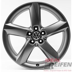 4 VW Sharan 7N 19 Zoll Alufelgen 7,5x19 ET29 Original Audi Felgen 4HC TM