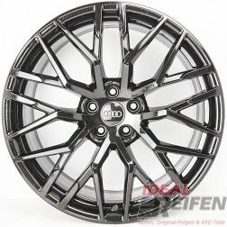 4 Original Audi R8 PLUS 4S 20 Zoll Alufelgen 4S0601025 8,5x20 ET42 11x20 CARBON