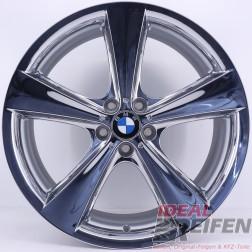 Original BMW X6 E71 21 Zoll Alufelgen Styling 128 6776841 6776842 NEU CHROM