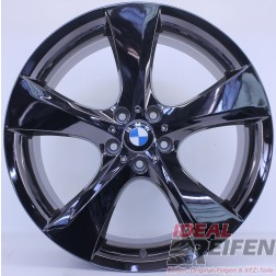 Original BMW 21 Zoll 5er Serie GT F07 M Facelift Alufelgen Styling 311 Schwarz Chrom NEU