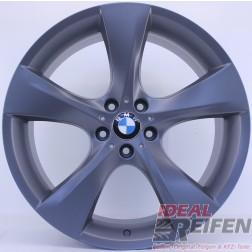 Original BMW 21 Zoll 5er Serie GT F07 M Facelift Alufelgen Styling 311 Titan matt NEU