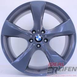 21 Zoll BMW X4 Typ F26 Styling 311 Original 7er Felgen Titan glänzend NEU