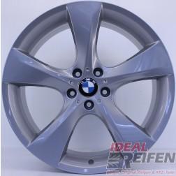 BMW 5er E60 E61 20 Zoll Alufelgen Styling 311 Original 5er Felgen Silber glänzend NEU