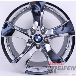 Original BMW 7er Serie F01 F02 M 21 Zoll Alufelgen Styling 311 6776841 6776842 NEU CHROM