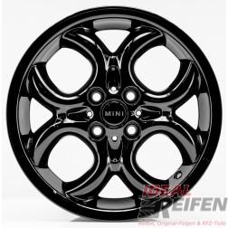 4 Original MINI Cabrio R57 2007-10 16 Zoll Felgen 6791942 Circular Spoke SG